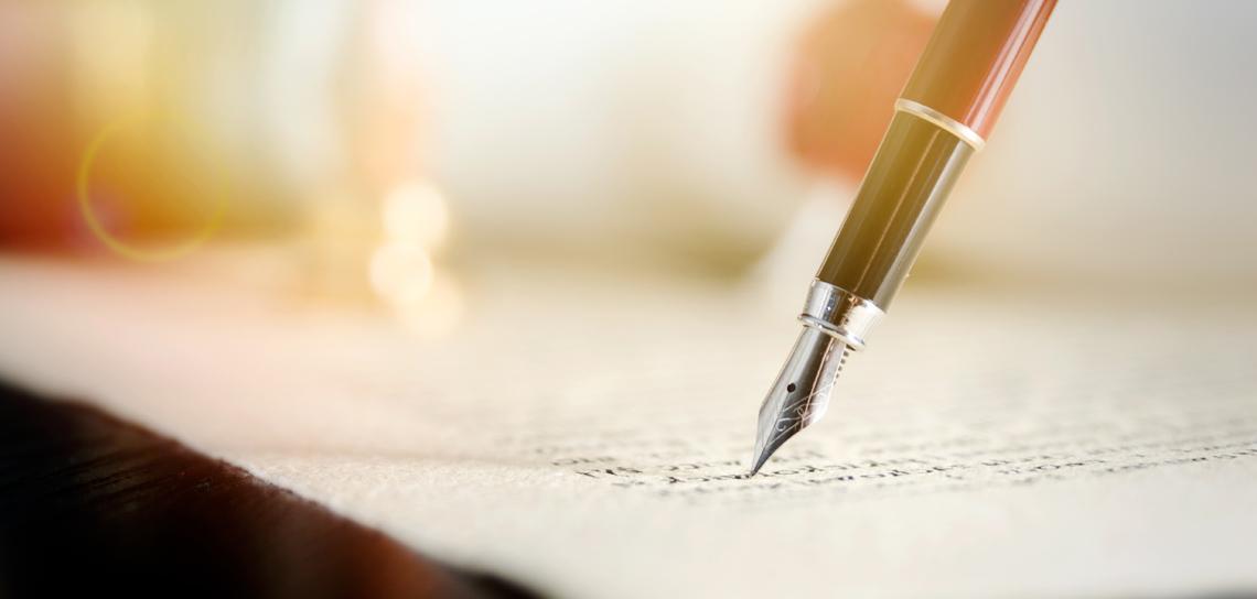 notary journal showing finger doing thumbprint