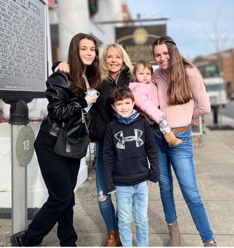 Laura and family